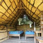 Vores airconditionerede hytte på Jungleøen
