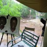 Malekursus i Chobe National park