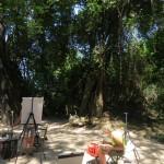 Jungleøens atelier
