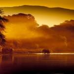 Botswana sunset - kan det fås flottere