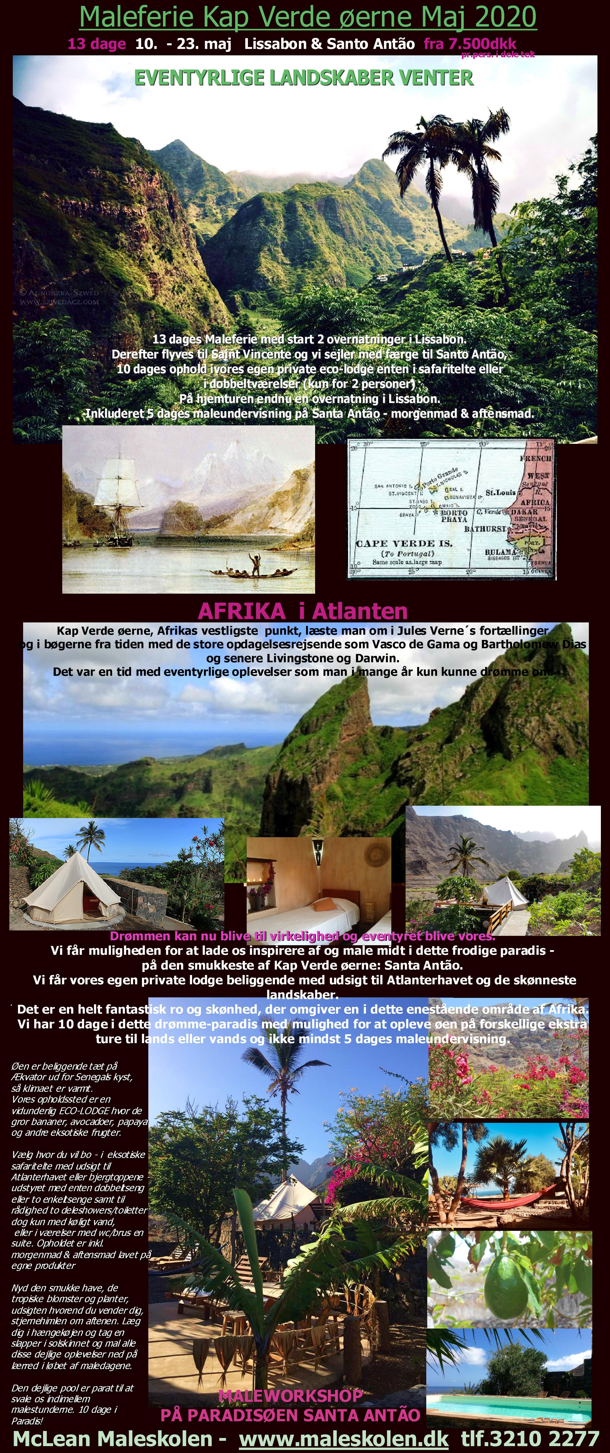 MALEFERIE Kap Verde maj 2020